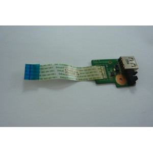 HP DV6-3180ES USB BOARD DA0LX6TB4D0 ORIGINAL