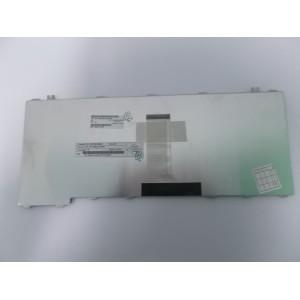 TOSHIBA SATELLITE L510 TECLADO/KEYBOARD US 6037B0038602 REV.A01 MP-06863US-9307 PLATEADO ORIGINAL