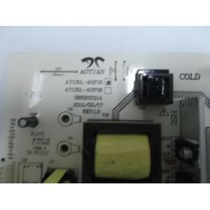 POWER SUPPLY BOARD TV AY135L-4HF05 3BS0033114 REV:1.0