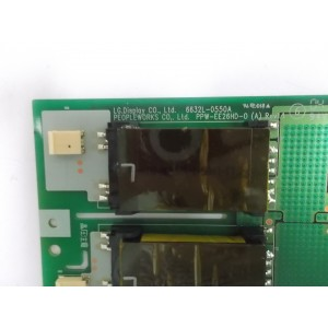 INVERTER BOARD 6632L-0550A PPW-EE26HD-0(A) REV.1.1
