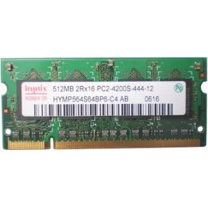 SO-DIMM DDR2 512MB 2RX16 PC2-4200S VARIAS MARCAS