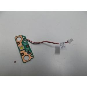 TOSHIBA SATELLITE L655 POWER BUTTON BOARD 6050A2334801-A02 + SCREW